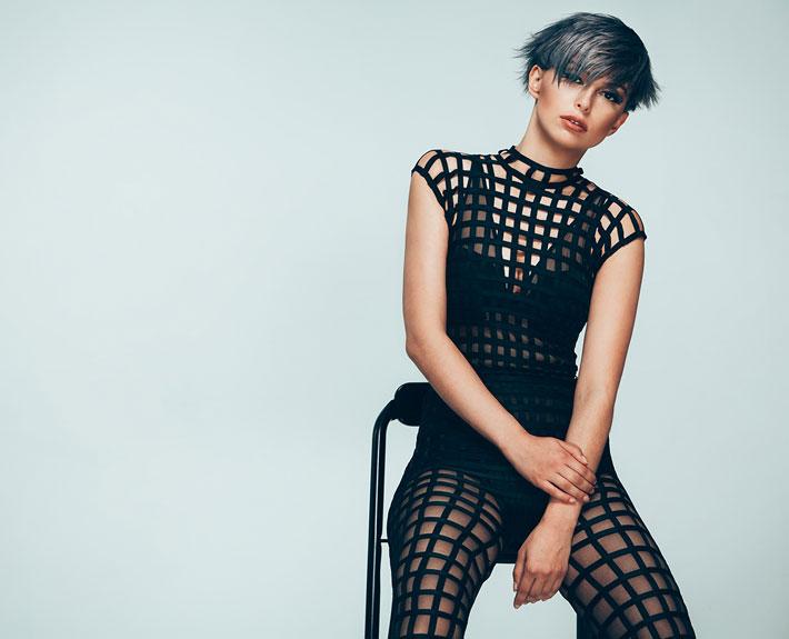 JeanLuc Paris. Collection PROGRESSIVE 2017. Model: Jessica. Fotograf: Mario Naegler.
